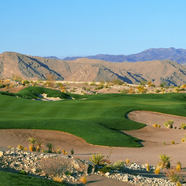 Coyote Springs Golf Club A Jack Nicklaus Signature Golf Course in Coyote Springs Nevada providing a premier golf experience to Henderson, Mesquite and Las Vegas Coyote features background