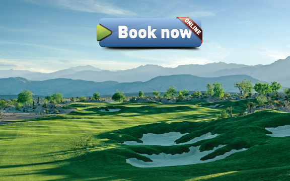 Coyote Springs Golf Club A Jack Nicklaus Signature Golf Course in Coyote Springs Nevada providing a premier golf experience to Henderson, Mesquite and Las Vegas Amore-Transport book now button
